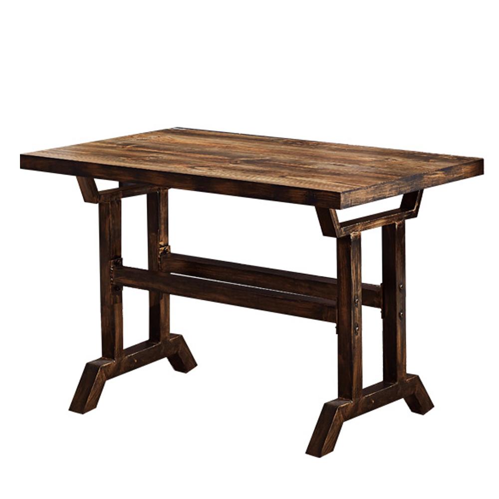 AT HOME - 雷爾4尺仿舊餐桌 120x70x73cm