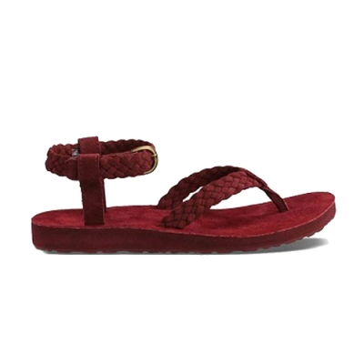 TEVA Original Sandal Suede Braid 涼鞋 紫 女