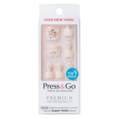 KISS New York-Press&Go足部指甲貼片-愛到最後(BHJT09J)
