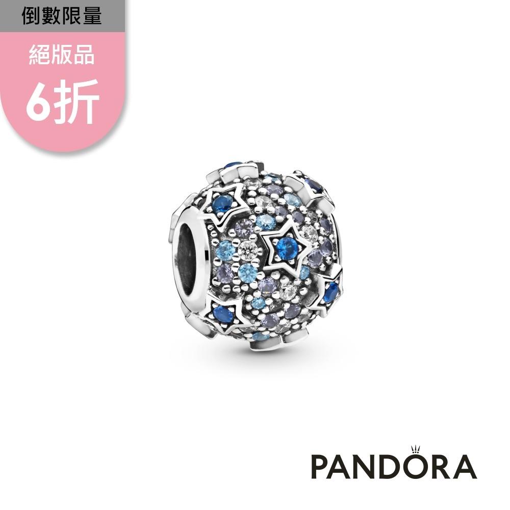 【Pandora官方直營】高掛繁星密鑲串飾
