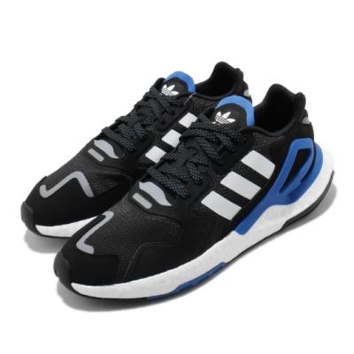 adidas 休閒鞋 Day Jogger 運動 男鞋 愛迪達 三葉草 緩震 Boost 穿搭 黑 藍 FW4041