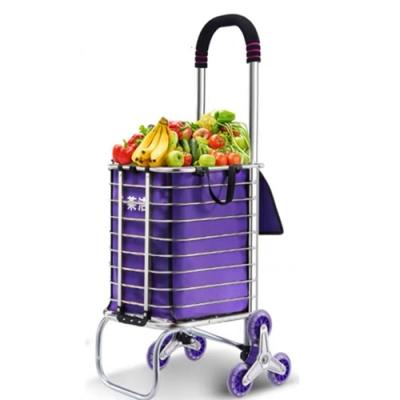 行動購物車+折疊附輪 會爬樓梯 環保購物車 購物袋 摺疊環保袋 折疊伸縮購物袋
