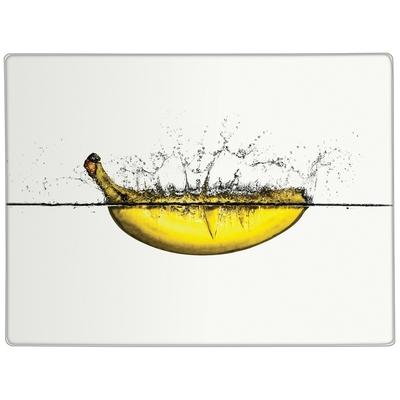 《Premier》長方玻璃砧板(香蕉40cm)