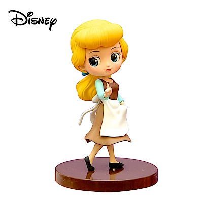 日本正版 Q posket Petit 仙杜瑞拉 公仔 灰姑娘 迪士尼 384000-BL