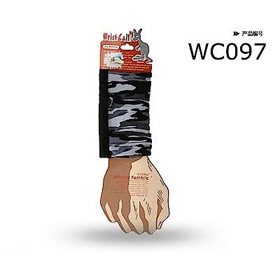 PCMAMA多用途運動手臂套手機套手腕袋手腕套Wrist Bag(黑+特戰迷彩1 WC097;可放零錢紙鈔信用卡悠遊卡一卡通)