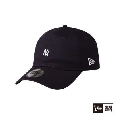NEW ERA 9THIRTY 930 斜紋布 MINI LOGO 洋基 深藍 棒球帽