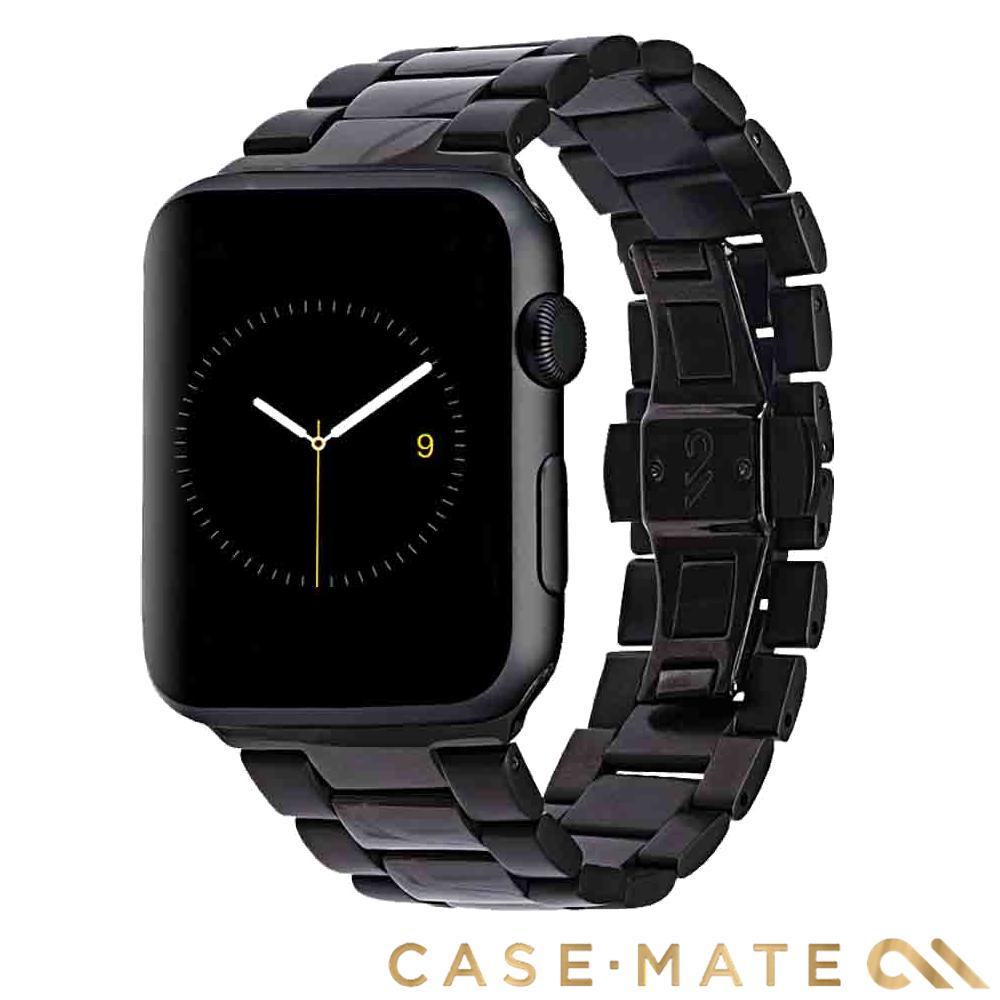 美國 Case-Mate Apple Watch 42/44mm 不鏽鋼錶帶 -黑/太空灰