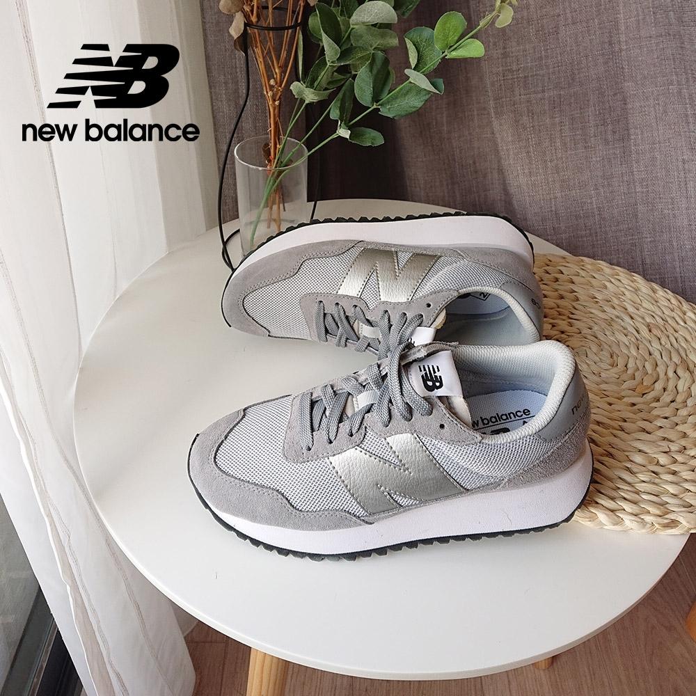 【New Balance】復古運動鞋_女性_灰色_WS237CD-B楦