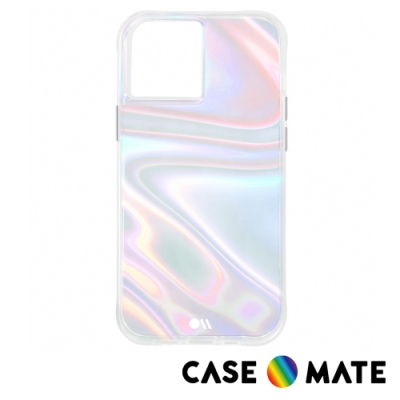 美國 Case-Mate iPhone 12 / 12 Pro Soap Bubble 幻彩泡泡防摔抗菌手機保護殼