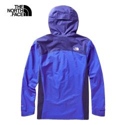 The North Face北面男款藍色防水透氣戶外衝鋒衣|3VSNG4C