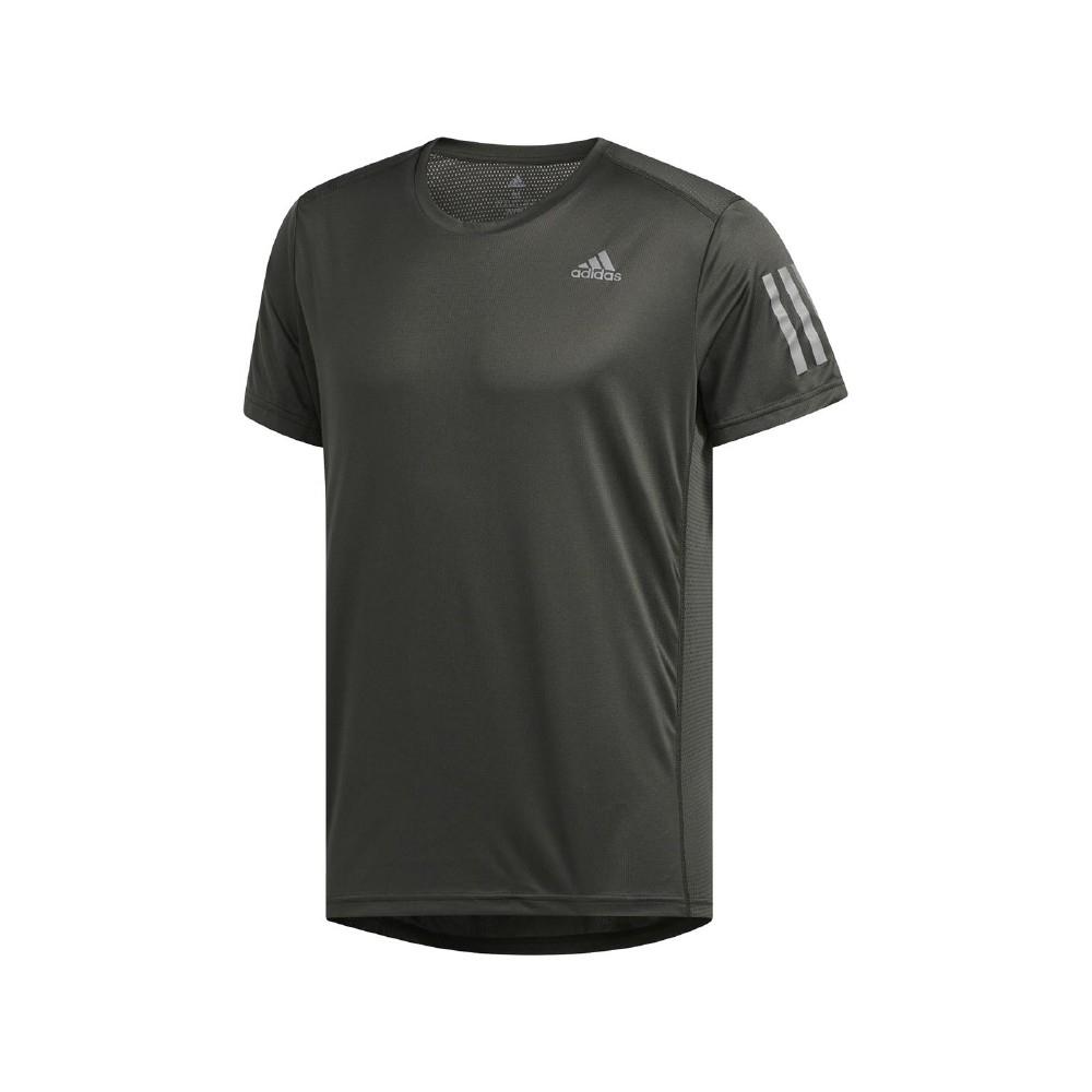 adidas T恤 Own The Run Tee 夜跑 男款