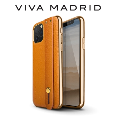 VIVA MADRID Cruzar iPhone 11 Pro 腕帶保護殼-橘色