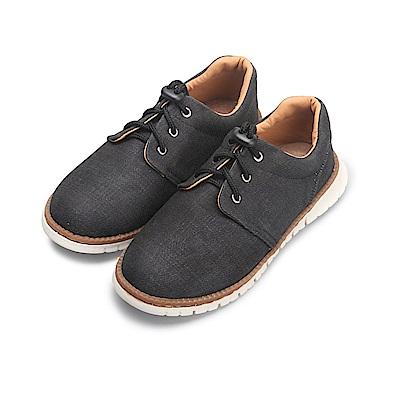 BuyGlasses 從前的懷舊感童款懶人鞋-黑