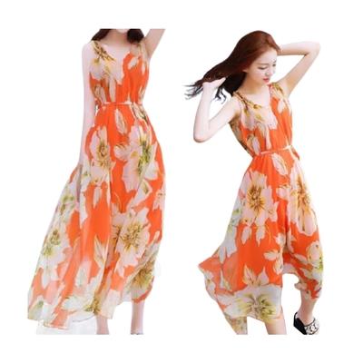 【韓國K.W.】獨家款潔身休閒海洋風洋裝