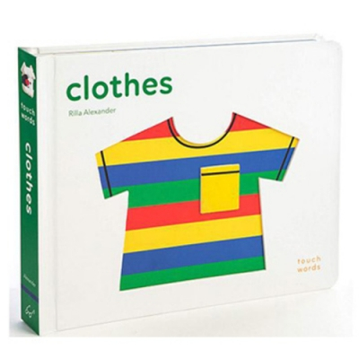 Touch Words:Clothes 觸覺學習書:衣服篇