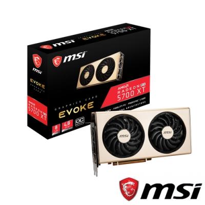 MSI微星 Radeon RX 5700 XT EVOKE OC 顯示卡
