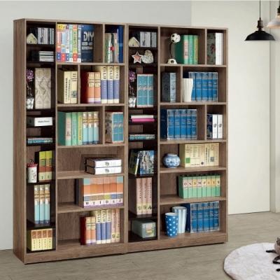 MUNA 奧蘿拉雙色6尺開放式書櫃(全組) 180X30X182cm