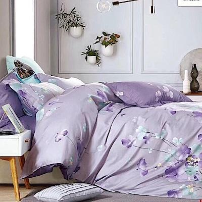 La Lune 精緻100%純棉雙人加大床包枕套3件組 LV豔遇