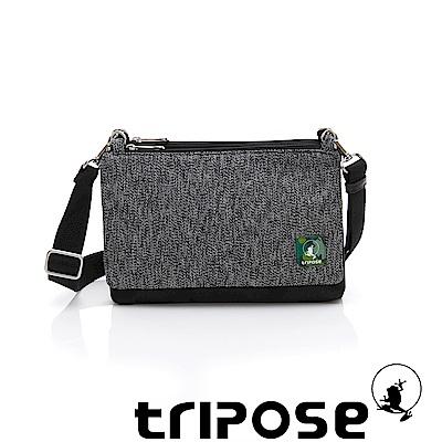 tripose MAJI系列黑迷彩x黑岩紋多變斜背包