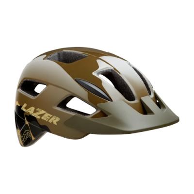 【LAZER】GEKKO 兒童用 自行車安全帽 迷彩