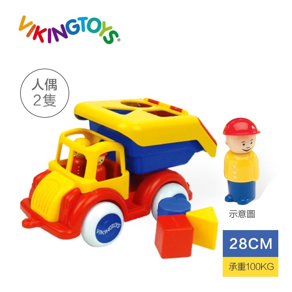 【瑞典 Viking toys】Jumbo 資源回收車-28cm 81258(幼兒玩具車)