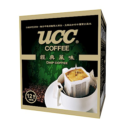 UCC經典風味濾掛式咖啡(12入x9盒)