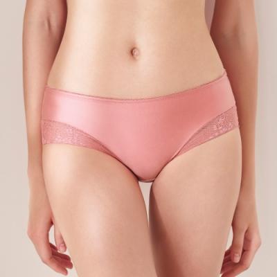黛安芬-舒適美型系列超彈舒柔平口內褲 M-EL 蜜桃橘