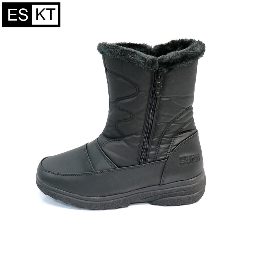 ESKT 女短筒雪鞋SN215【黑色】