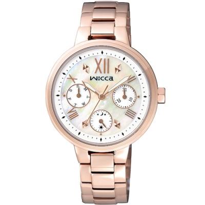 WICCA 甜美少女風格腕錶 BH7-521-11