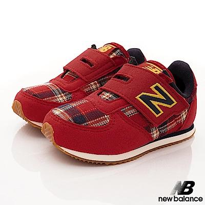 NewBalance 220格紋運動款 RCI紅色(小童段)