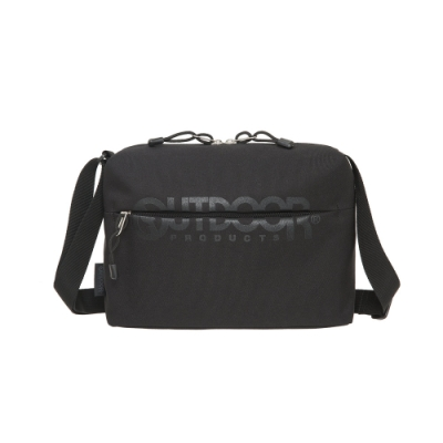 【OUTDOOR】街頭滑行-側背包-黑色 OD111125BK
