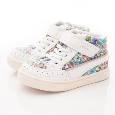IFME健康機能鞋 護踝支撐靴款 NI71701白(中小童段)
