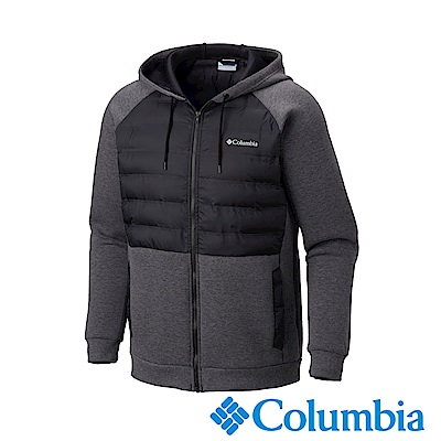 Columbia哥倫比亞 男款-防潑快排連帽外套-黑色UAE05200BK
