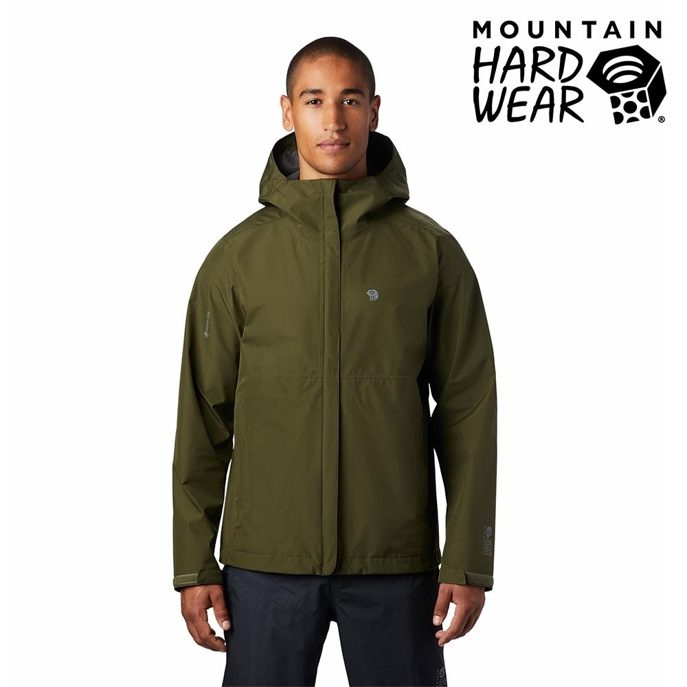 【美國 Mountain Hardwear】Exposure2 Gore-Tex Paclite Jacket GTX輕量防水連帽外套 男款 深軍綠 #1882081