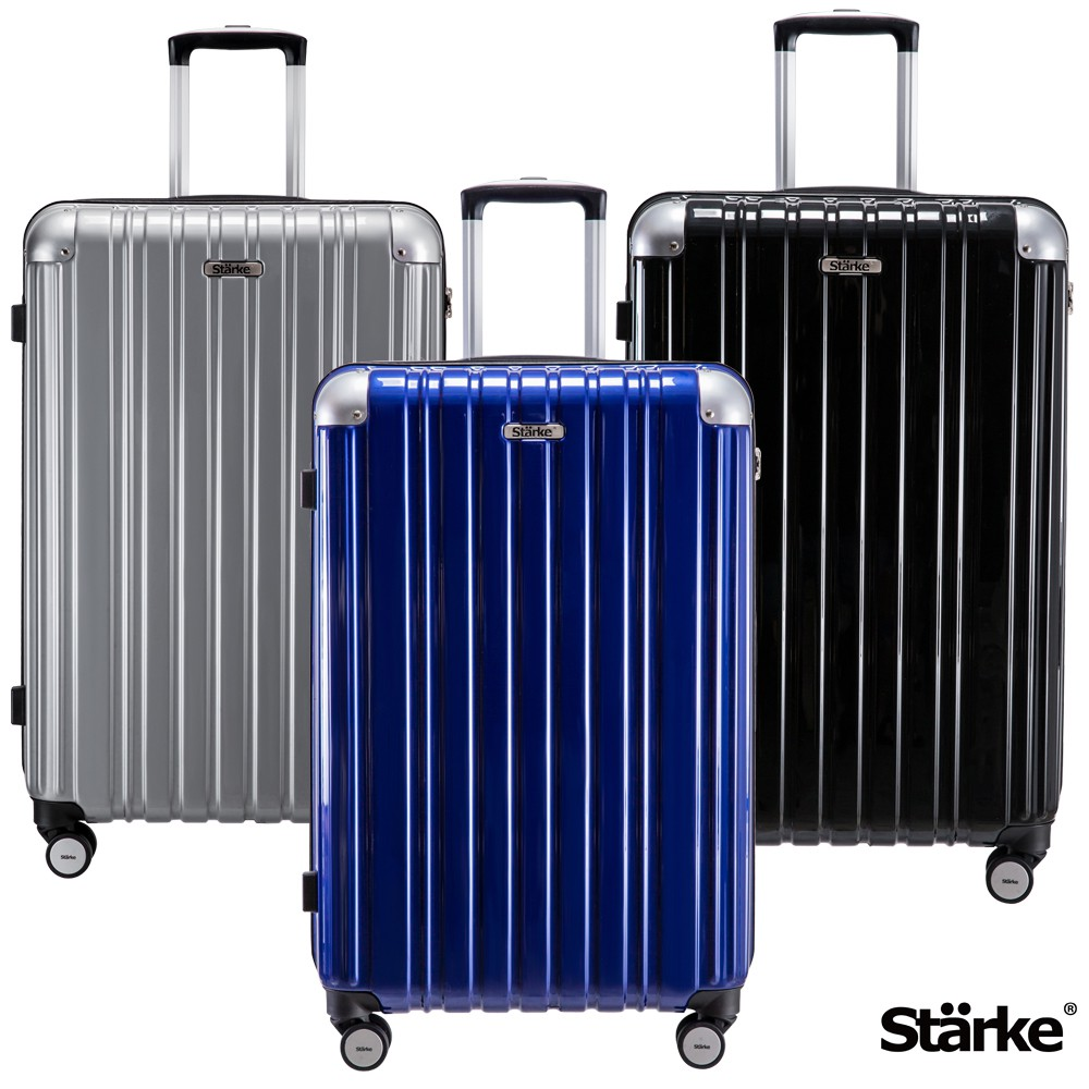 Starke LUXURY 26吋PC耐撞TSA海關鎖拉鏈旅行箱 -多色選