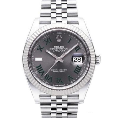 ROLEX 勞力士 Datejust 126334 日誌型機械腕錶x綠灰羅x41mm