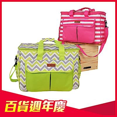 [時時樂限定] LIFECODE 香頌野餐保冰袋/保溫袋-2色可選