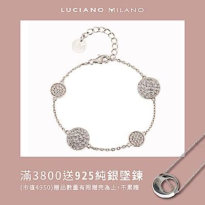 LUCIANO MILANO 魔力奇蹟純銀手鍊