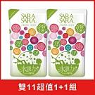莎啦莎啦 西西里檸檬健康沐浴乳補充包800gX2