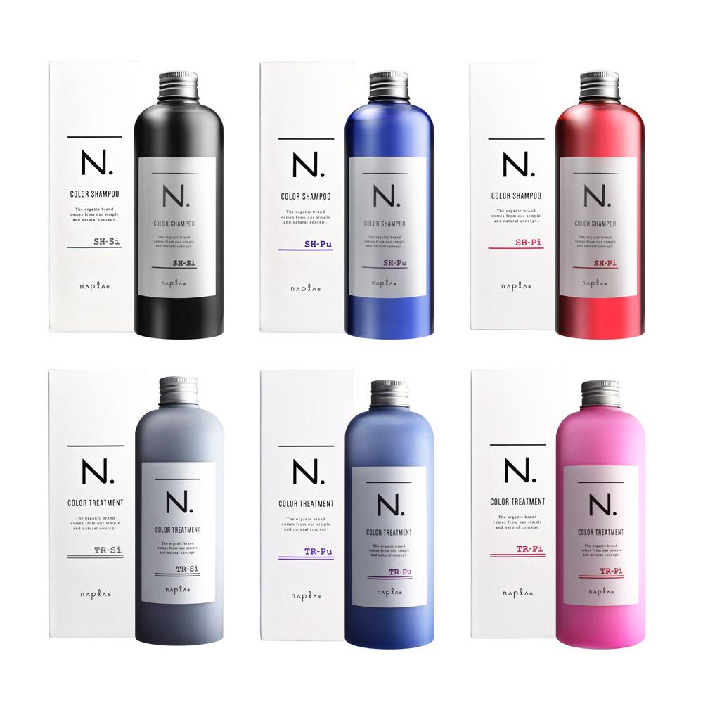 Napla娜普菈 N.系列炫彩洗髮精320ml / 護髮乳300g