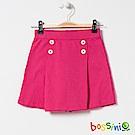 bossini女童-素色褲裙紅褐