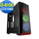 微星B360平台[夜龍霸王II]i3四核GTX1060獨顯SSD電玩機