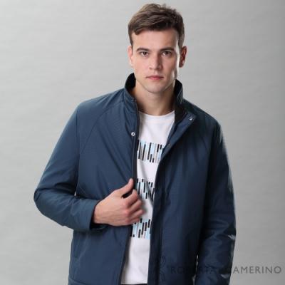 ROBERTA諾貝達 禦寒必備 格紋厚舖棉夾克外套 藍綠