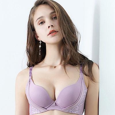 推EASY SHOP-輕舞悸動 大罩杯B-E罩內衣(水漾紫)