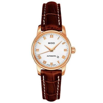 MIDO Baroncelli 雅典女神機械皮帶腕錶-29mm M76003268