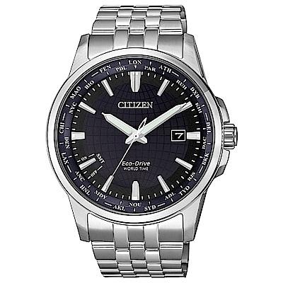 CITIZEN 星辰 GENT 限量地球防磁腕錶41mm藍(BX1001-89L)