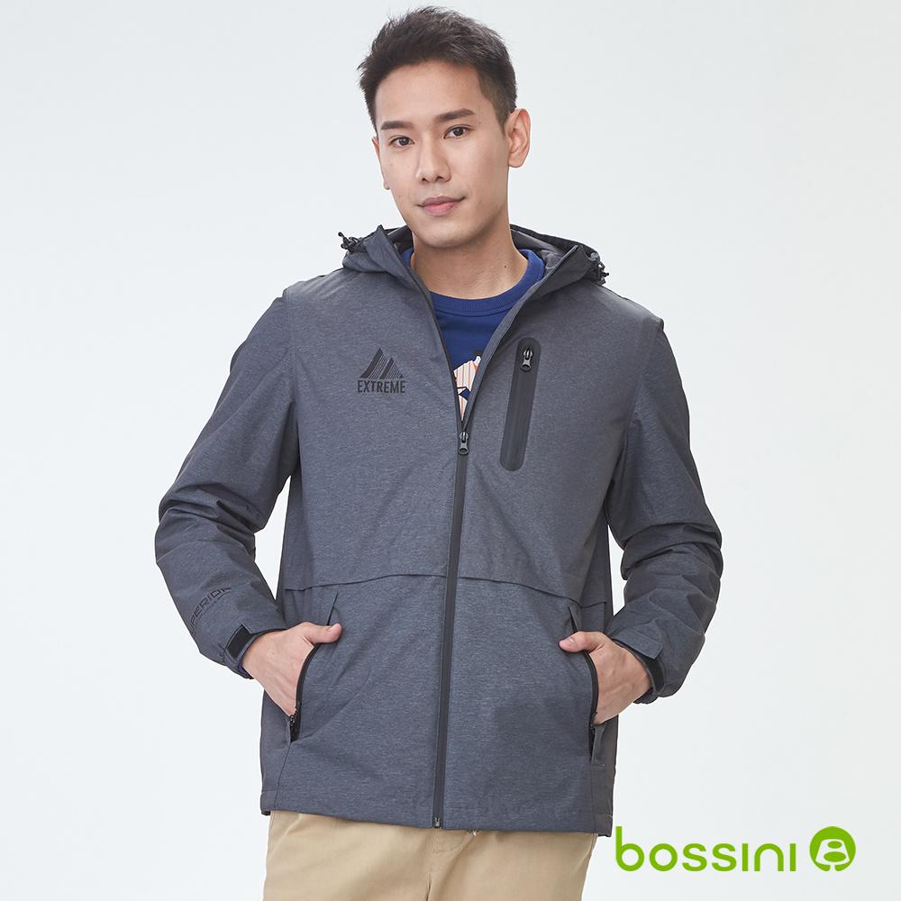 bossini男裝-多功能百搭外套04銀灰