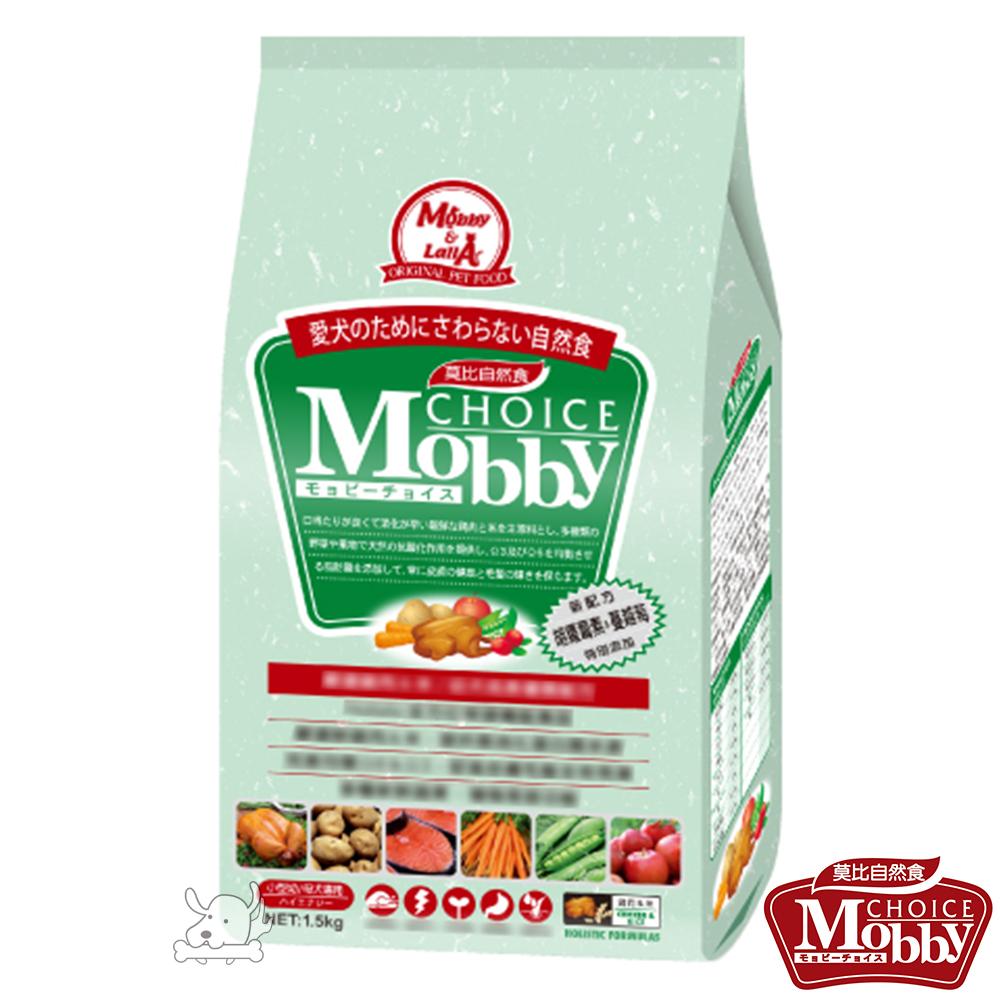 Mobby 莫比 雞肉+米 小型幼母犬配方飼料 7.5公斤 X 1包