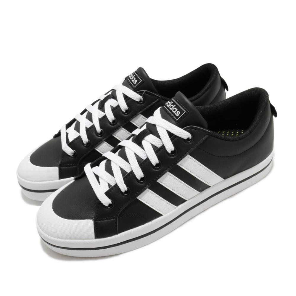 adidas 休閒鞋 Bravada 滑板鞋 男鞋 愛迪達 皮革鞋面 低筒 穿搭推薦 黑 白 FW2888