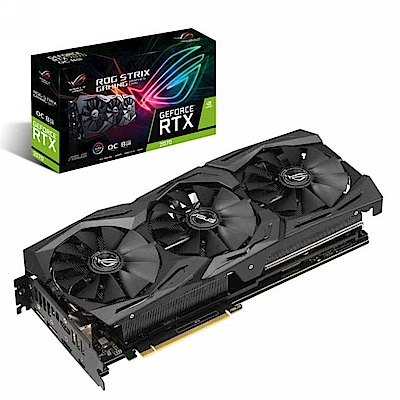 華碩ASUS ROG Strix GeForce RTX™ 2070 O8G GAMING顯示卡